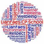 Llanfaes School wordle
