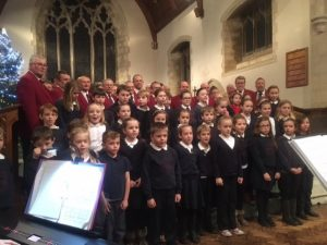 Choir with Aberhonddu Dec 2016