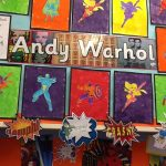 Our Andy Warhol paintings