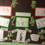 We have been drawing and writing about 'growing things'