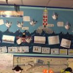 Our information wall.
