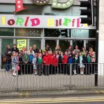 Our trip out to Cardiff to try different Countries foods.