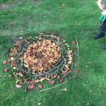 based on a Goldsworthy design