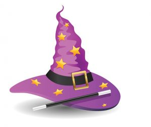 Cartoon Wizard hat, 10eps