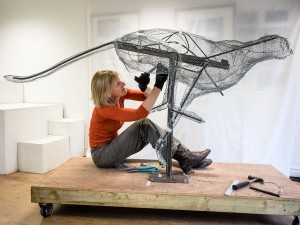 NickMarkman cheetah sculpture