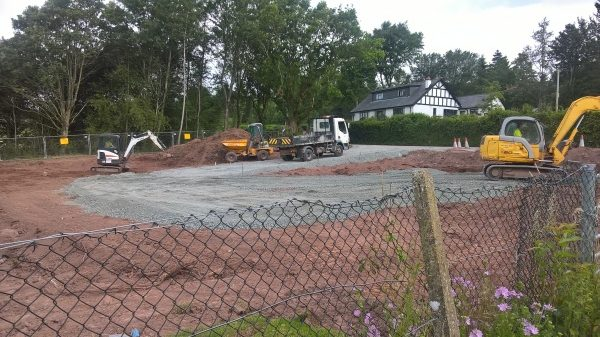 Car Park Works Week 1 (6)