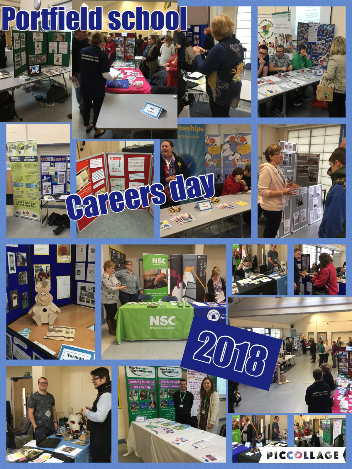careers day collage