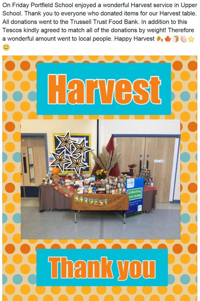 harvest thankyou