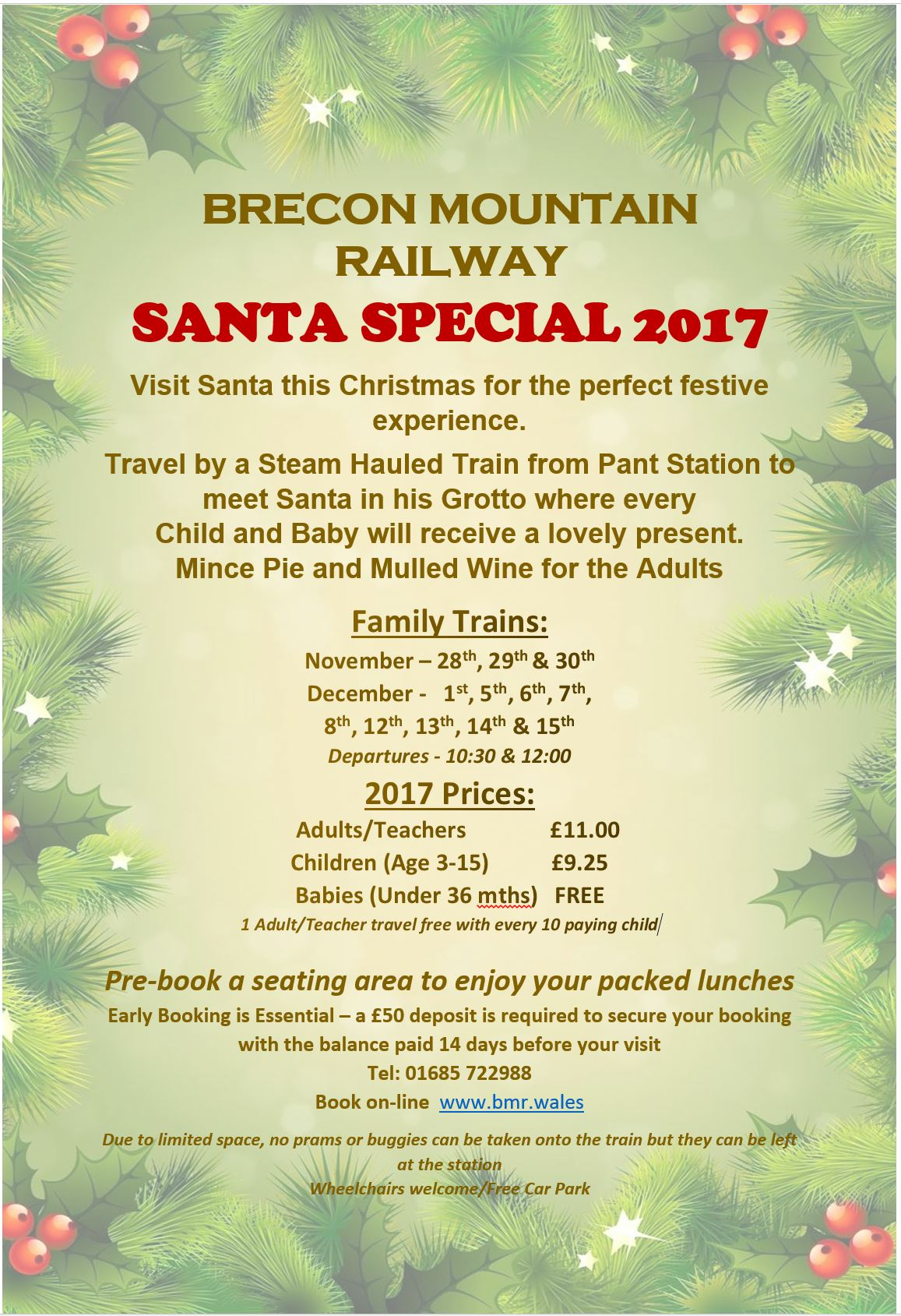railway for christmas