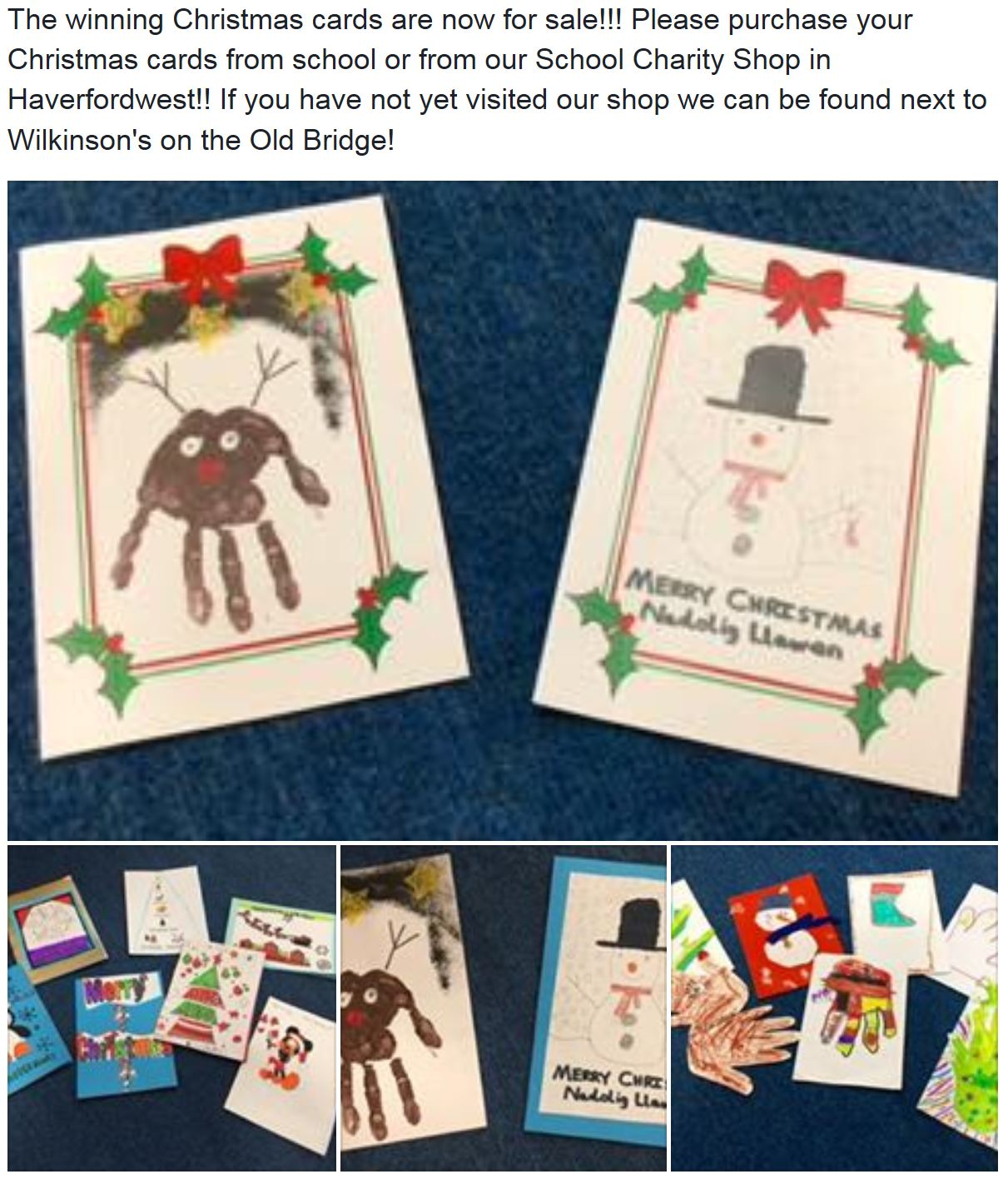 winning christmas cards sale reminder