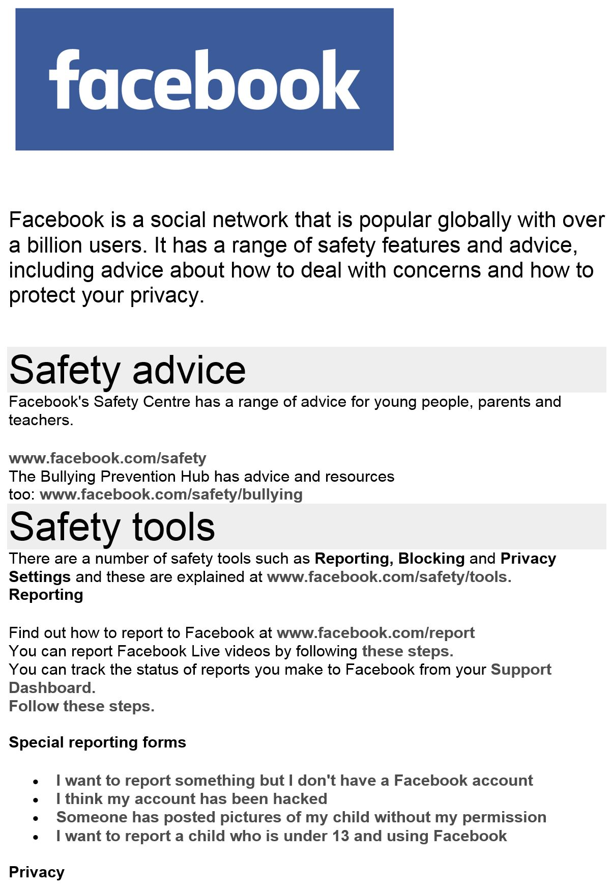 facebook safety 1