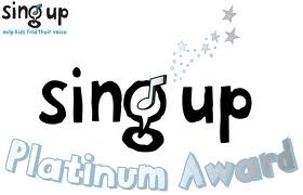 Sing Up Badge