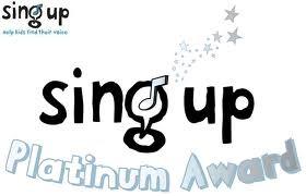Sing Up Badge