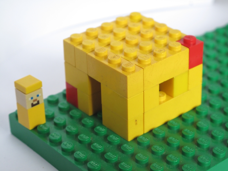 Lego_Minecraft_House