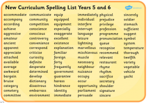 spelling-list-for-years-56
