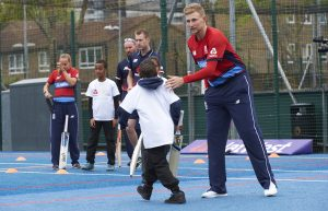 LONDON, ENGLAND - MAY 08: In this handout image provided by NatWest Joe Root of England at the NatWest 'Cricket has no boundaries' campaign launch at the Black Prince Community Trust Hub on May 1, 2017 in Vauxhall,London. (Photo by Handout/Getty Images)