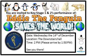Eddie the penguin flyer