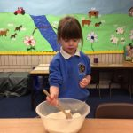 Baking bread for the Little Red Hen