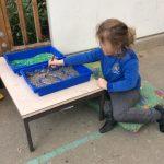 Mark making trays